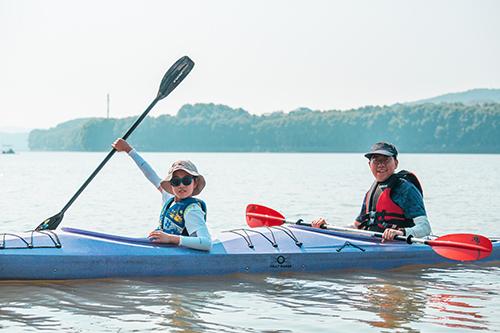 江门皮划艇拓展训练团建
